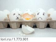 Купить «Разрисованные яйца», фото № 1773901, снято 15 июня 2010 г. (c) Дарья Филимонова / Фотобанк Лори
