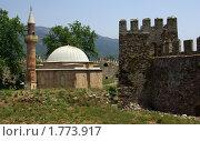 Купить «Мечеть в замке Мамуре на Средиземноморском побережье Турции», фото № 1773917, снято 14 мая 2010 г. (c) Раппопорт Михаил / Фотобанк Лори