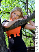 Купить «Портрет девушки», фото № 1778709, снято 3 мая 2008 г. (c) Михаил Лукьянов / Фотобанк Лори