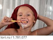 Купить «Обязательная гигиена», фото № 1781077, снято 17 июня 2010 г. (c) Goruppa / Фотобанк Лори