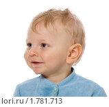 Купить «Портрет маленького мальчика на белом фоне», фото № 1781713, снято 5 февраля 2010 г. (c) Ольга Сапегина / Фотобанк Лори