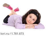 Купить «Мечтающая девочка», фото № 1781873, снято 13 июня 2010 г. (c) Татьяна Мельникова / Фотобанк Лори