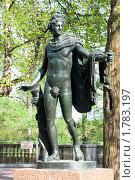 Купить «Аполлон. Скульптура в Екатерининском парке. Город Пушкин», эксклюзивное фото № 1783197, снято 15 мая 2010 г. (c) Александр Щепин / Фотобанк Лори
