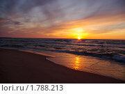 Уходящее солнце. Стоковое фото, фотограф Шадров Юрий / Фотобанк Лори