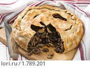 Купить «Пирог с грибами и почками», эксклюзивное фото № 1789201, снято 13 мая 2010 г. (c) Лидия Рыженко / Фотобанк Лори