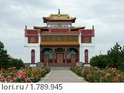 Купить «Буддийский храм», фото № 1789945, снято 21 июня 2010 г. (c) Самофалов Владимир Иванович / Фотобанк Лори