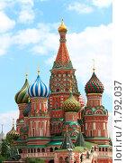 Собор Василия Блаженного. Москва. Стоковое фото, фотограф juliagam / Фотобанк Лори