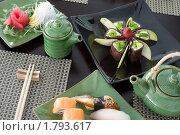 Купить «Японский обед», фото № 1793617, снято 23 июня 2010 г. (c) Александр Подшивалов / Фотобанк Лори