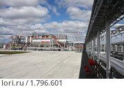 Купить «Газокомпрессорная станция», фото № 1796601, снято 25 июня 2010 г. (c) Николай Лыжин / Фотобанк Лори