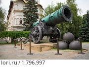Купить «Царь-пушка в Московском Кремле», фото № 1796997, снято 26 июня 2010 г. (c) Николай Винокуров / Фотобанк Лори
