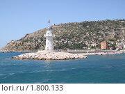 Купить «Морской пейзаж:маяк», фото № 1800133, снято 23 июня 2010 г. (c) Софья Петрова / Фотобанк Лори