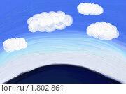 Купить «Облака плывут над горизонтом», иллюстрация № 1802861 (c) Татьяна Васина / Фотобанк Лори