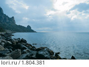 Купить «Море», фото № 1804381, снято 25 марта 2019 г. (c) Сергей Павлов / Фотобанк Лори