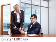 Купить «Подписание контракта», фото № 1807497, снято 17 июня 2010 г. (c) Raev Denis / Фотобанк Лори