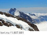 Купить «В швейцарских Альпах. У вершины», фото № 1807881, снято 22 июня 2010 г. (c) Сергей Лебедев / Фотобанк Лори