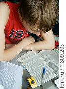 Купить «Перед экзаменом», фото № 1809205, снято 3 июля 2010 г. (c) Валерия Попова / Фотобанк Лори