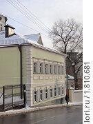 Купить «Старинное здание в центре Москвы», фото № 1810681, снято 31 января 2010 г. (c) Пиневич Геннадий Александрович / Фотобанк Лори