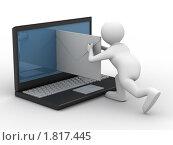 Купить «Концепция электронной почты», иллюстрация № 1817445 (c) Ильин Сергей / Фотобанк Лори