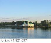 Купить «Вид на Мирожский монастырь в Пскове на закате», фото № 1821697, снято 30 июня 2010 г. (c) Валентина Троль / Фотобанк Лори