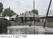 Купить «Наводнение в городе», фото № 1827789, снято 26 июня 2010 г. (c) Free Wind / Фотобанк Лори
