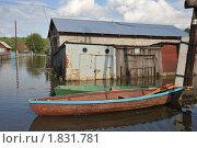 Купить «Затопленная улица», фото № 1831781, снято 26 июня 2010 г. (c) Free Wind / Фотобанк Лори