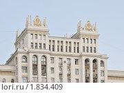 Купить «Фрагмент высотки на Котельнической набережной. Город Москва», эксклюзивное фото № 1834409, снято 11 июля 2010 г. (c) stargal / Фотобанк Лори