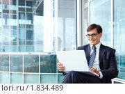 Портрет бизнесмена. Стоковое фото, фотограф Raev Denis / Фотобанк Лори