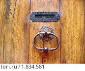 Входная дверь. Везон ля Ромен. Прованс. Франция. (2009 год). Стоковое фото, фотограф Мария Закржевская / Фотобанк Лори