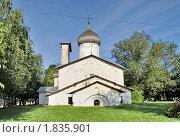 Купить «Церковь Николы на Усохе в Пскове», фото № 1835901, снято 3 июля 2010 г. (c) Виктор Карасев / Фотобанк Лори
