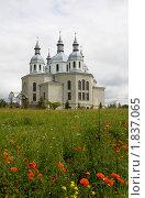 Купить «Храм в селе Золочев (Украина)», фото № 1837065, снято 24 июня 2010 г. (c) Бондаренко Олеся / Фотобанк Лори