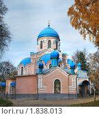 Церковь Воскресения Христова (кладбищенская). Ульяновск. Стоковое фото, фотограф Ерёмин Никита / Фотобанк Лори