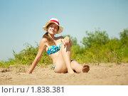 Купить «Девушка в бикини», фото № 1838381, снято 26 июня 2010 г. (c) Яков Филимонов / Фотобанк Лори