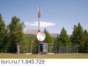 Купить «Башня сотовой связи», фото № 1845729, снято 22 июня 2010 г. (c) Антон Железняков / Фотобанк Лори