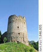 Купить «Наугольная башня. Крепость Копорье», фото № 1846805, снято 10 июля 2010 г. (c) Виктор Карасев / Фотобанк Лори