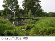 Мост через ручей. Стоковое фото, фотограф Григорий Бледных / Фотобанк Лори
