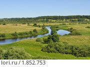 Долина реки Сороть. Стоковое фото, фотограф Виктор Карасев / Фотобанк Лори