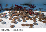 Купить «Монетки», фото № 1862757, снято 10 мая 2010 г. (c) Сурикова Ирина / Фотобанк Лори