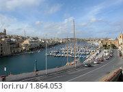 Купить «Стоянка яхт. Мальта», фото № 1864053, снято 21 ноября 2007 г. (c) Николай Богоявленский / Фотобанк Лори