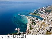 Купить «Город Омиш, Хорватское побережье», фото № 1865281, снято 16 июля 2010 г. (c) Николай Винокуров / Фотобанк Лори