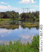 Купить «Летний пейзаж», эксклюзивное фото № 1867493, снято 10 июня 2010 г. (c) lana1501 / Фотобанк Лори