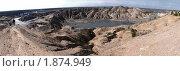 Песчано-глиняный карьер (панорама) Стоковое фото, фотограф Андрей Комаров / Фотобанк Лори