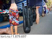 Манекены на рынке. Стоковое фото, фотограф Сергей Шульгин / Фотобанк Лори
