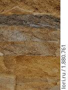 Срез песчаного грунта. Стоковое фото, фотограф Александр Верещак / Фотобанк Лори