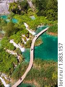 Купить «Хорватский природный парк - Плитвицкие озера», фото № 1883157, снято 12 июля 2010 г. (c) Николай Винокуров / Фотобанк Лори