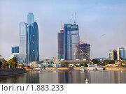 Москва Сити, Деловой центр Москвы (2010 год). Редакционное фото, фотограф Николай Винокуров / Фотобанк Лори