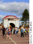 Купить «Омск. Празднование Дня Города на территории музея Омской Крепости», фото № 1883853, снято 1 августа 2010 г. (c) Julia Nelson / Фотобанк Лори