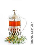 Чай с облепихой. Стоковое фото, фотограф Peredniankina / Фотобанк Лори