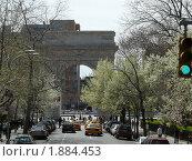 Ранняя весна. Жизнь на улицах Нью - Йорка. США (2009 год). Стоковое фото, фотограф Marina Butirskaya / Фотобанк Лори
