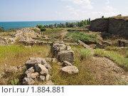 Развалины античного города Нимфей в Крыму (2010 год). Стоковое фото, фотограф Бондаренко Олеся / Фотобанк Лори