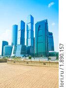 Купить «Комплекс Москва-Сити», фото № 1890157, снято 25 июля 2010 г. (c) Виталий Радунцев / Фотобанк Лори